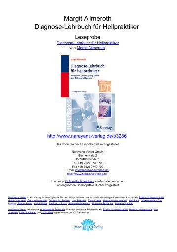 Margit Allmeroth Diagnose-Lehrbuch für Heilpraktiker