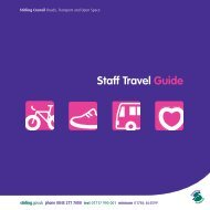 Staff Travel Guide - Stirling Council