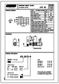 Pressure relief valves. - Total Hydraulics BV - Page 4