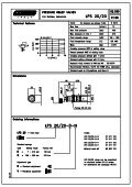 Pressure relief valves. - Total Hydraulics BV - Page 5