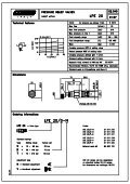 Pressure relief valves. - Total Hydraulics BV - Page 6