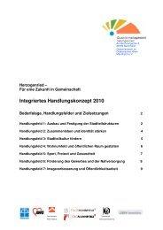 Integriertes Handlungskonzept 2010