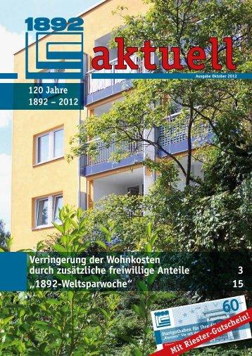 1892-Weltsparwoche - Berliner Bau- und Wohnungsgenossenschaft ...
