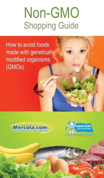 Non-GMO Shopping Guide - Scott Green