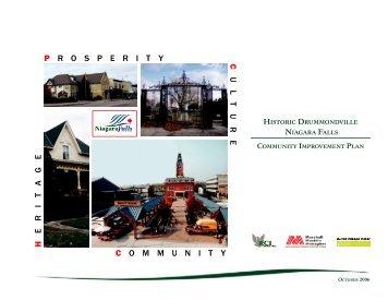 Historic Drummondville Community Improvement Plan