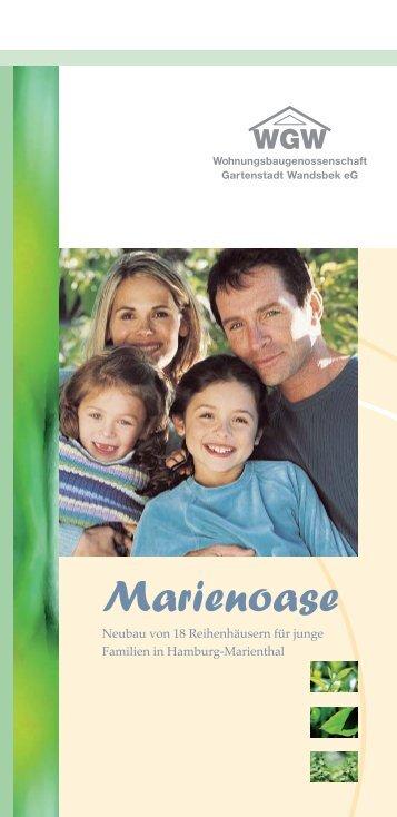 Broschüre Marienoase - Wohnungsbaugenossenschaft Gartenstadt ...