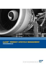 mySAP™ PRODUCT LIFECYCLE MANAGEMENT - iCAS AG