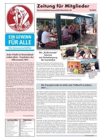 """""""Kellerasseln"""" feierten am Steinsburgweg ihr Gartenfest - Gartenstadt"""