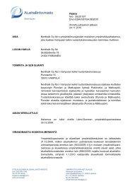 Päätös Nro 55/2010/1 Dnro ESAVI/67/04.08/2010 Annettu ...
