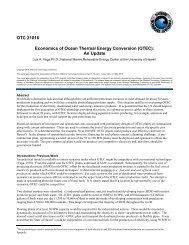 OTEC Economics 2010 - Hawaii National Marine Renewable ...