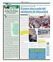 Extremistas de CONARE atacan sede del Ministerio de ... - Diario 16 - Page 6