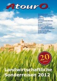Landwirtschaftliche Sonderreisen 2012