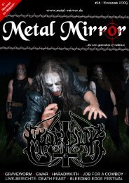 METAL MIRROR #28 - MARDUK, GWAR, GRAVEWORM, JOB FOR ...