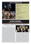 METAL MIRROR #28 - MARDUK, GWAR, GRAVEWORM, JOB FOR ... - Page 3