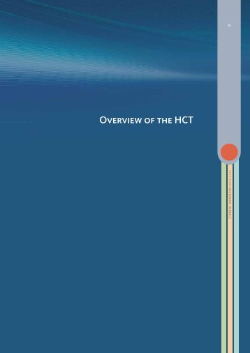 Overview of the HCT - Higher Colleges of Technology