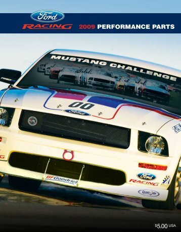Ford Racing Performance Parts Catalog - gDMJoe