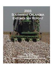 2003 - Oklahoma Crop Variety Trials - Oklahoma State University