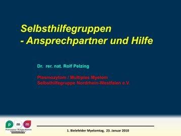 Selbsthilfegruppen - Plasmozytom / Multiples Myelom ...