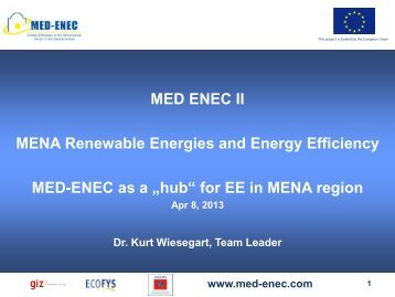 MED-ENEC Presentation - Ceeba