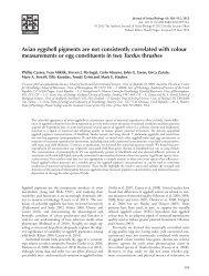 Journal of Avian Biology 43(6)