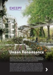 Urban Renaissance - Except Integrated Sustainability