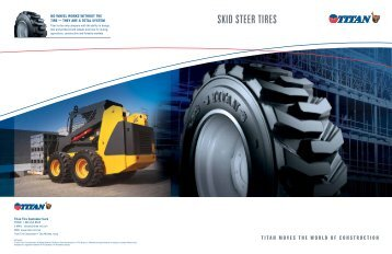 SKID STEER TIRES - Titan International