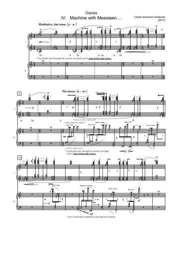Machine with Messiaen.mus - Carlos Sanchez-Gutierrez
