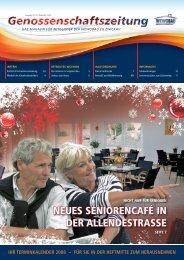Genossenschaftszeitung Nr. 33 - Dezember 2008 - Wewobau