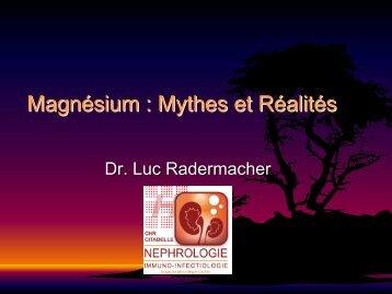 Mythes et reali