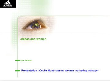 Cécile MONTMASSON - EWS European Women and Sport