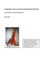 Integrale visie op informatievolwassenheid - NIFV