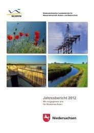 Jahresbericht 2012 - Niedersächsischer Landesbetrieb für ...