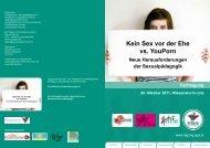 Kein Sex vor der Ehe vs. YouPorn - Aidshilfe Oberösterreich