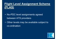 RVSM - Flight Level Assignment Scheme (FLAS)
