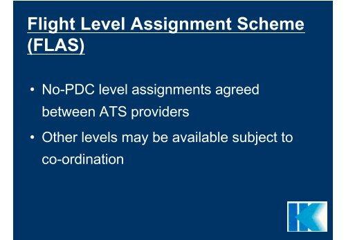 RVSM - Flight Level Assignment Scheme (FLAS)