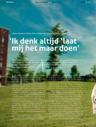 Lees het interview met haar in Mednet Magazine.