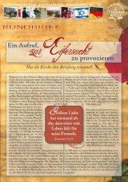 2011 April Ein Aufruf, zur Eifersucht zu provozieren - Christliche ...