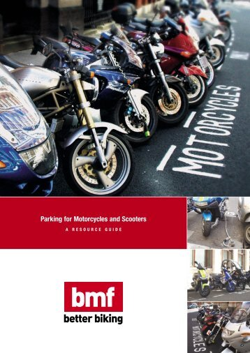Parking for Motorcycles and Scooters – A Resource ... - Right To Ride