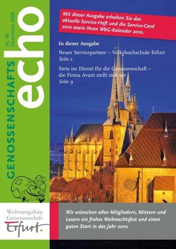 genossenschafts - 'Erfurt' eG