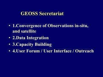 GEOSS Secretariat