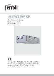 mercury sp - Ferroli