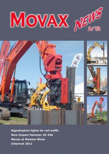 Signalization lights for rail traffic New Impact Hammer IH-25d Movax ...