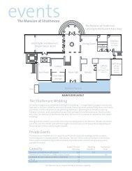 Mansion Floor Plan - Strathmore