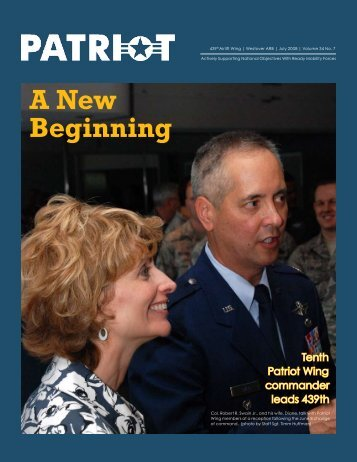 A New Beginning - Westover Air Reserve Base, Mass