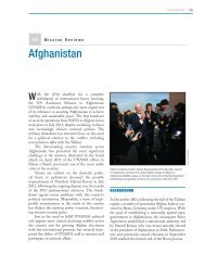 Afghanistan - Center on International Cooperation