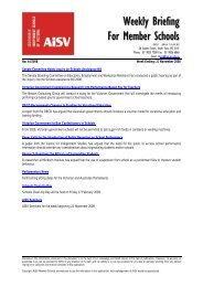 Weekly Briefing For Member Schools - Association of Independent ...