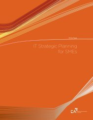 IT Strategic Planning for SMEs - Canadian Institute of Chartered ...
