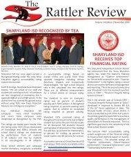 The Rattler Review - November 2009 - Sharyland ISD