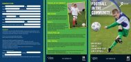 Culture and Sport Glasgow Brochure - Scottish Football Association