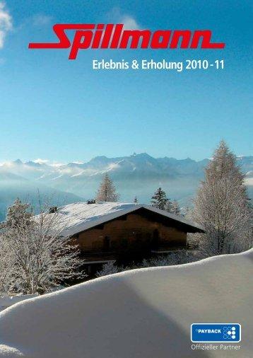 Erlebnis & Erholung 2010 - 11 - Spillmann